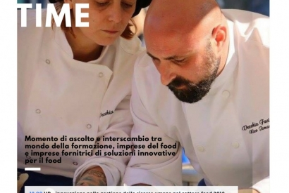 Martedì 27 febbraio ore 18 | Food expert innovation time